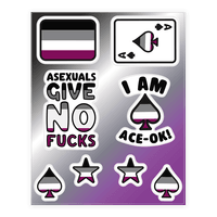 Asexual Pride Sticker