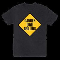 Danger: Dad Grilling