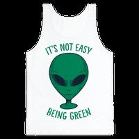 It's Not Easy Being Green (Alien) Tank