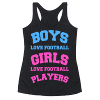 Boys and Girls Love Football