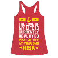 Piss Me Off At Your Own Risk (Navy)