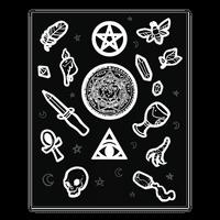 Witchcraft Supplies Occult Sticker