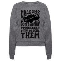 Dragons Don't Kidnap Princesses They Rescue Them