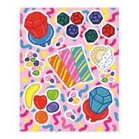 90's Candy Sticker