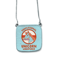Professional Unicorn Whisperer Necklace