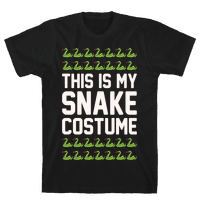 This Is My Snake Costume White Print