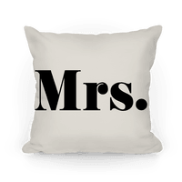 Mrs. (of mr. & mrs. set)