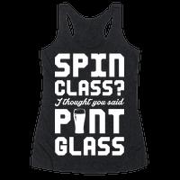 Spin Class Pint Glass