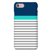 Blue Color Block Stripe