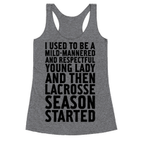And Then Lacrosse Season Started
