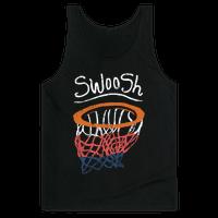 Basketball Hoop Swoosh (Vintage)
