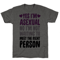 Yes I'm Asexual