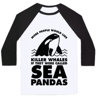 More People Would Like Killer Whales if They Were Called Sea Pandas