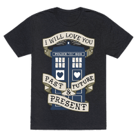 Doctor Who Love Past Future Present