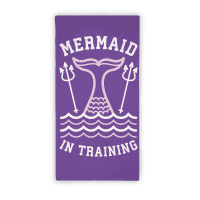 Mermaid In Training (Towel) Towel