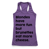 Brunettes Eat More Cheese