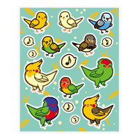 Bird Lover Sticker