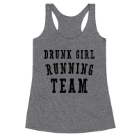 Drunk Girl Running Team