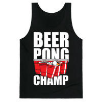 Beer Pong Champ Tank