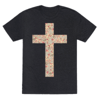 Floral Cross
