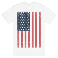 American Flag Distressed
