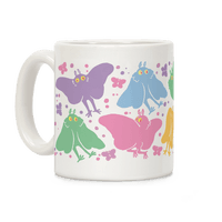 Cute Pastel Mothman Pattern