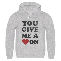 You Give me a Heart On(crewneck)