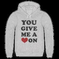 You Give me a Heart On(crewneck)
