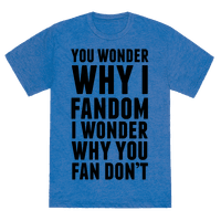 You Wonder Why I Fandom Tee