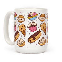 Kawaii Food Dogs Mug