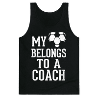 My Heart Belongs To A Soccer Coach (Dark Tank)