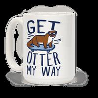 Get Otter My Way Mug