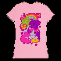 Double Trouble Rainbow Kitty & Puppy