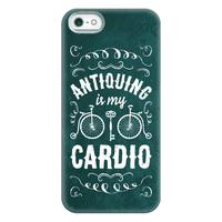 Antiquing Is My Cardio Phone Case Phonecase
