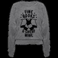 Fine Books & Cheap Wine
