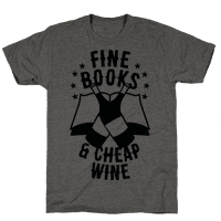 Fine Books & Cheap Wine