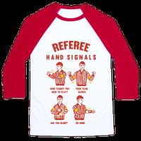 Funny Referee Hand Signals
