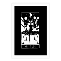 The Loner Tarot Card