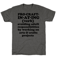Procraftinating Definition