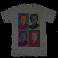 Pop Art Hillary Clinton Tee