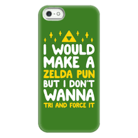 I Would Make A Zelda Pun But I Don't Wanna Tri And Force Phonecase