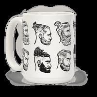 Beards, Braids and Man Buns Mug
