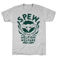 Society for the Promotion of Elfish Welfare (S.P.E.W.)