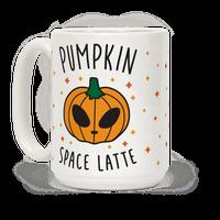 Pumpkin Space Latte Mug
