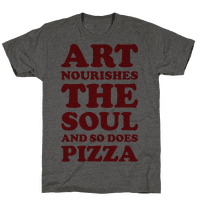 Art Nourishes The Soul And So Does Pizza