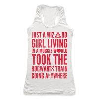 Just a Wizard Girl Living in a Muggle World
