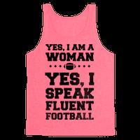 Yes, I Am A Woman, Yes, I Speak Fluent Football