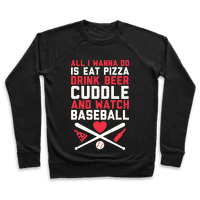 Pizza, Beer, Cuddling, And Baseball