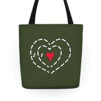 A Heart Two Sizes Too Small Tote