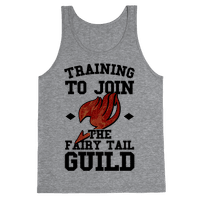 Training to Join the Fairy Tail Guild Tank